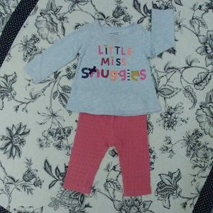 First Impressions Girls 2pc Outfit 6-9m